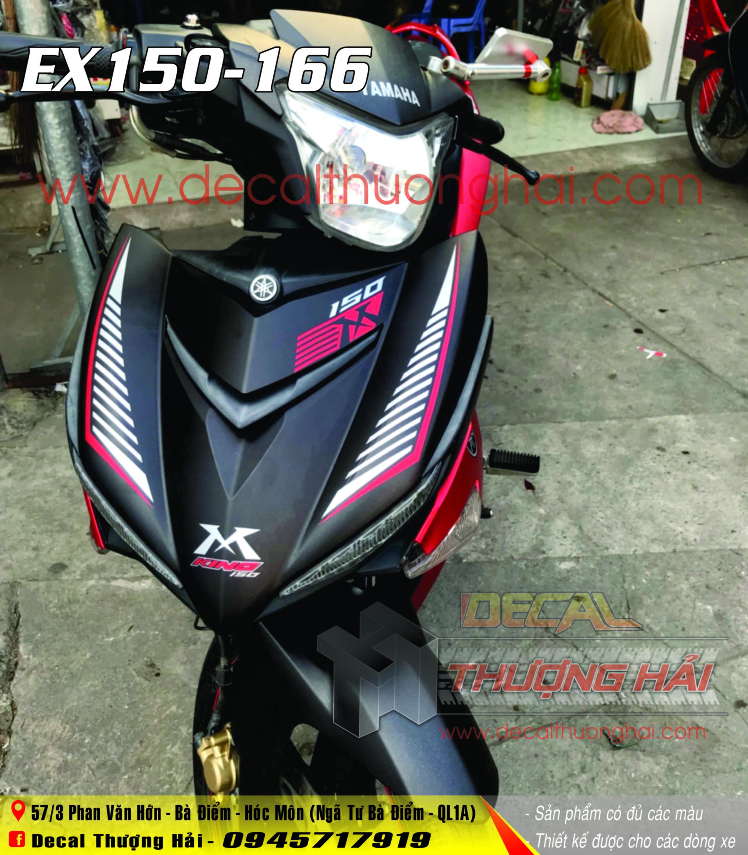 Tem Xe Exciter 150 MX King 166