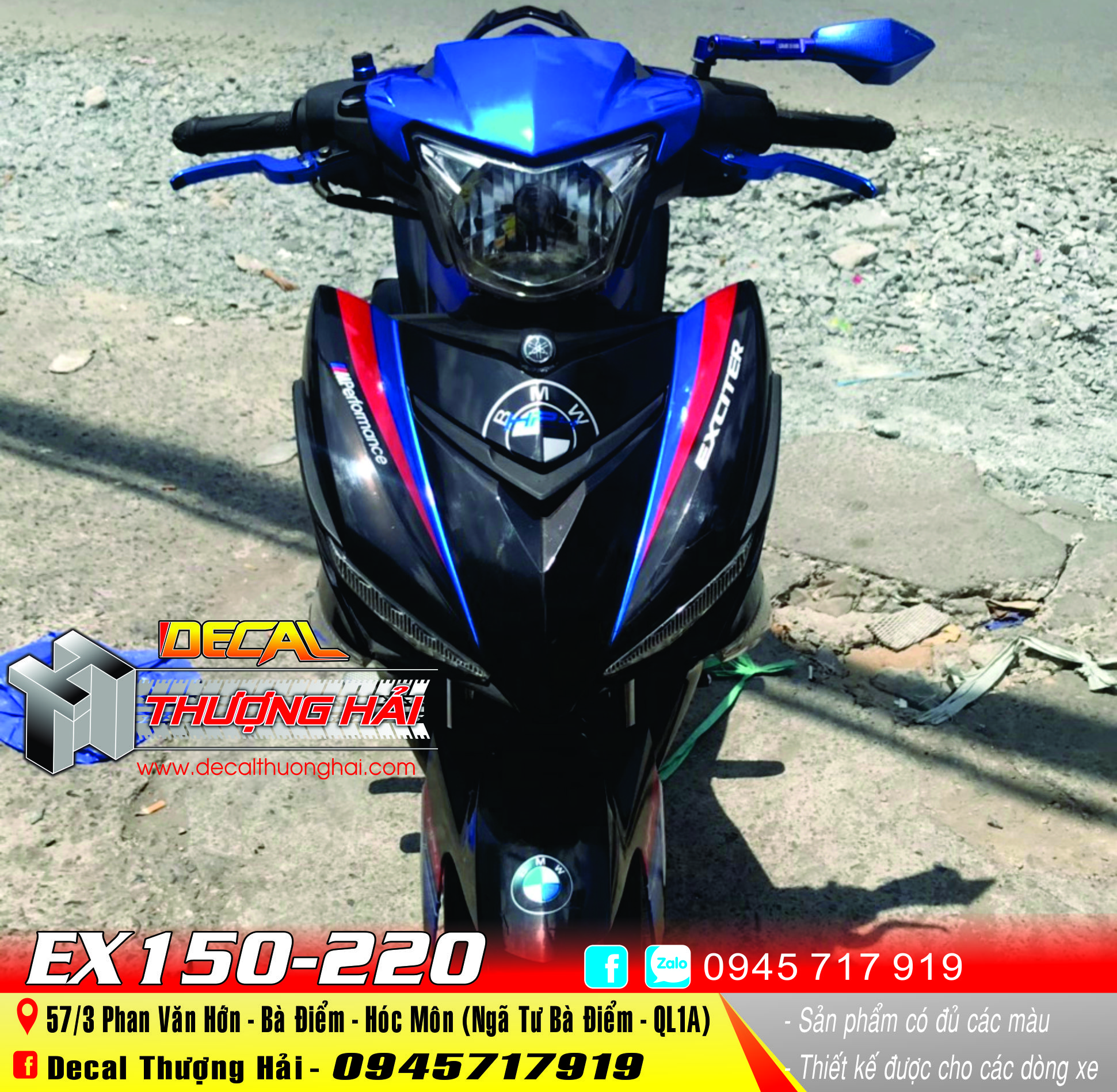 Tem Xe Exciter 150 HP4 - 220