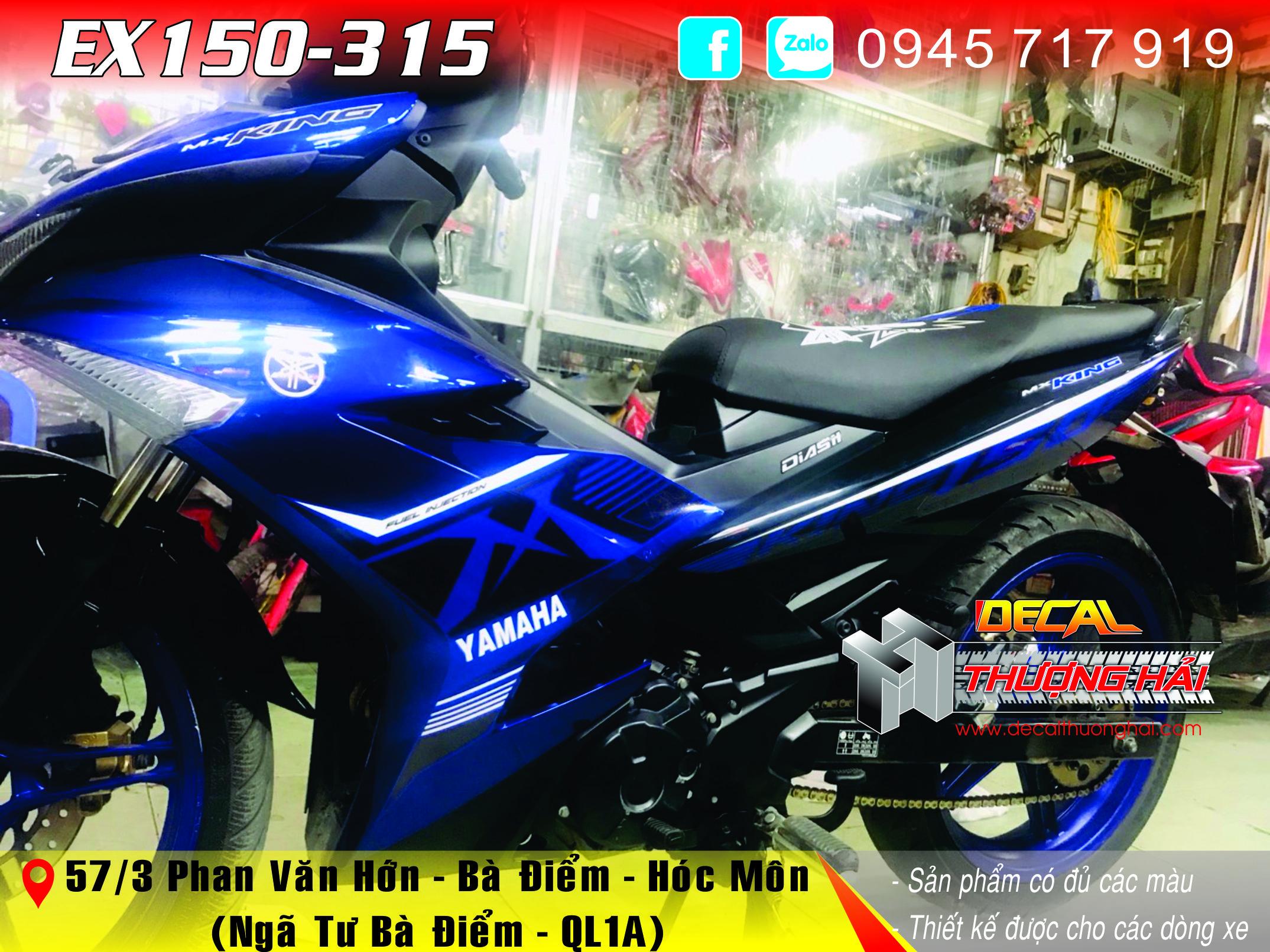 Tem Trùm Exciter 150 MX King - 315