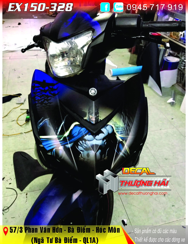 Tem Trùm Exciter 150 Batman - 328