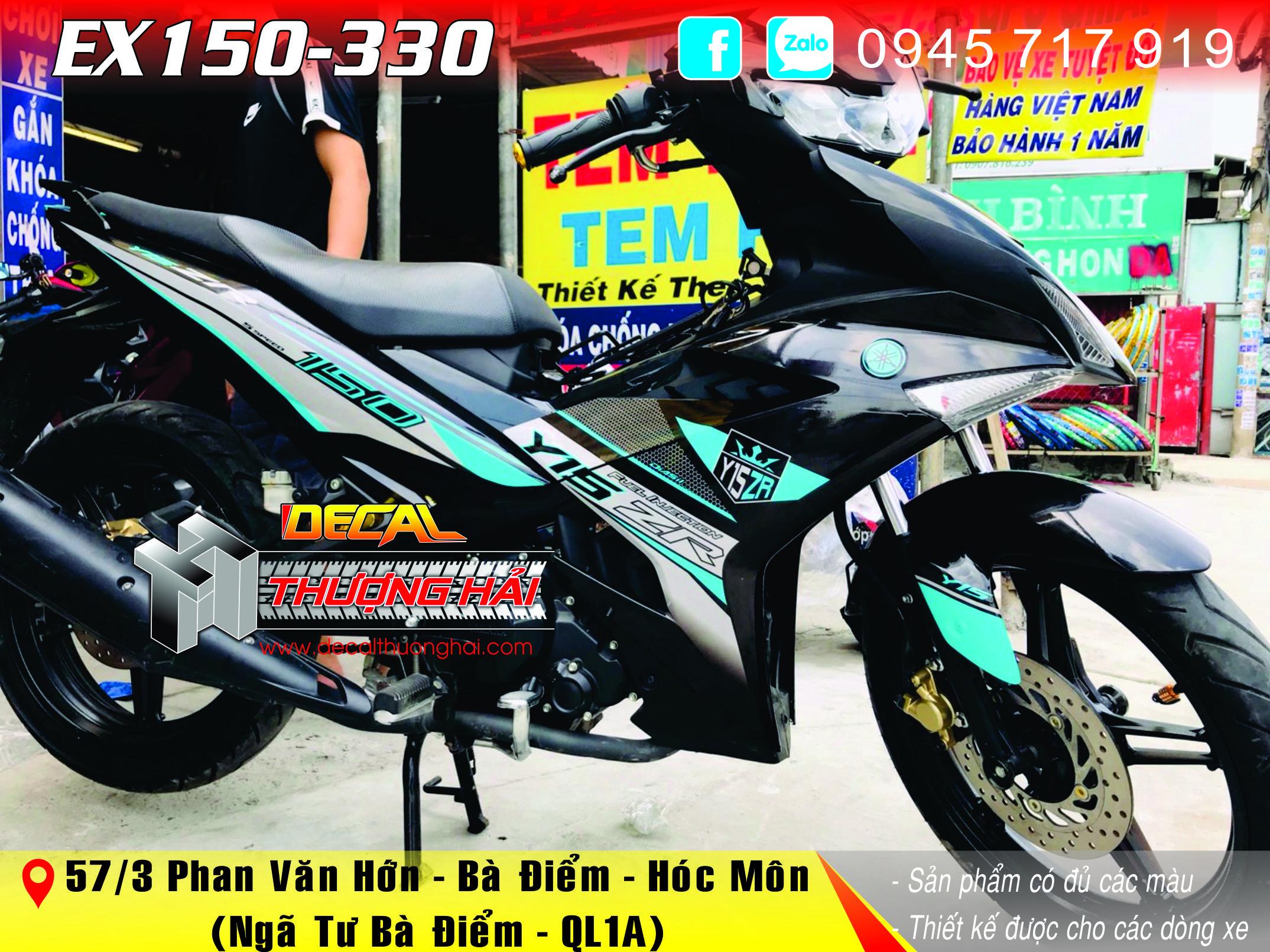 Tem Trùm Exciter 150 Y15 ZR - 330